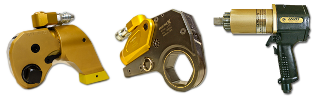 Industrial bolting tools