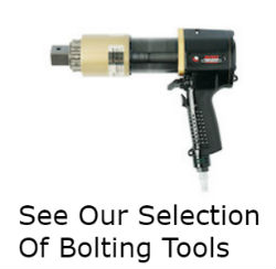 Our industrial bolting tool selection